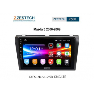 DVD Android Zestech Z500 – Mazda 3