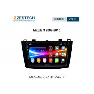 DVD Android Zestech Z800 – Mazda 3
