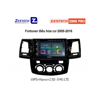 DVD Android Zestech Z800 PRO – Toyota Fortuner