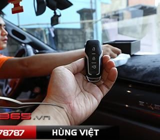 Smartkey star stop trên ford everest